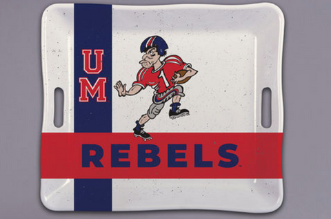 Ole Miss Tray with Handles