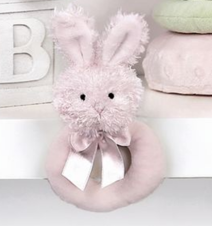 Lil' Bunny Ring Rattle