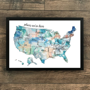 Dreamer - US Scratch Off Map