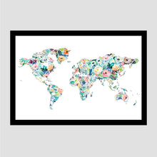 Load image into Gallery viewer, Gold Rose Less Traveled World Scratch Off Map
