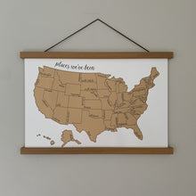 Load image into Gallery viewer, Been There Scratched That- US Scratch Off Map