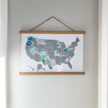 Load image into Gallery viewer, Dreamer - Silver US Scratch Off Map