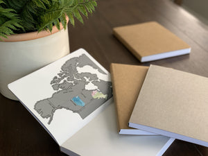 NEW! World Travel Journal - Soft Cover