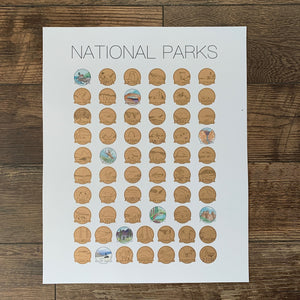 National Parks Bucketlist