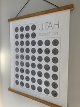 Load image into Gallery viewer, Utah State Bucket List Scratch Off