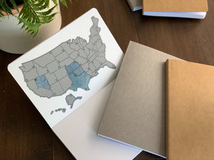 US Travel Journal - Soft Cover