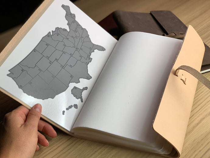 US Travel Journal- Natural Original