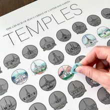 Load image into Gallery viewer, LDS Temple Scratch Off