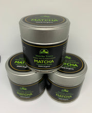 Load image into Gallery viewer, 3-Pack 100% USDA Organic Ceremonial Grade Matcha $59.99 -FREE U.S. Shipping