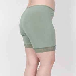 Fusion Shortlette Anti Chafing Slipshort - Short Length (Sage) - Limited Edition!