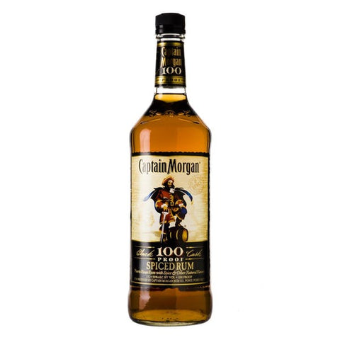 Captain Morgan 100 Proof Spiced Rum