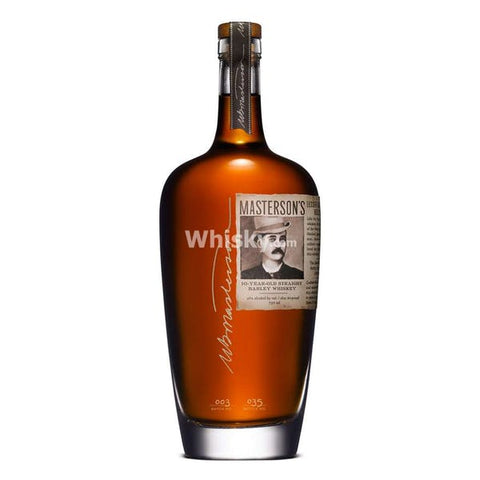 Masterson's 10 Year Straight Rye Whiskey