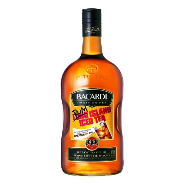 Bacardí Party Drinks Rum Island Iced Tea
