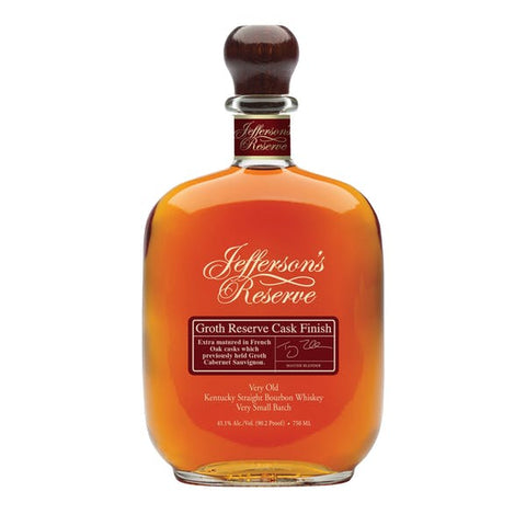 Jefferson's Reserve Groth Reserve Cask Finish Bourbon