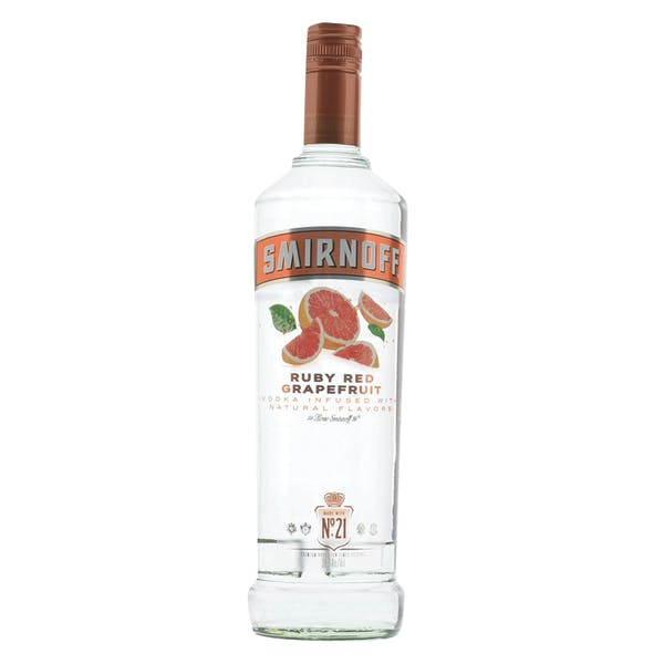 Smirnoff Ruby Red Grapefruit Vodka