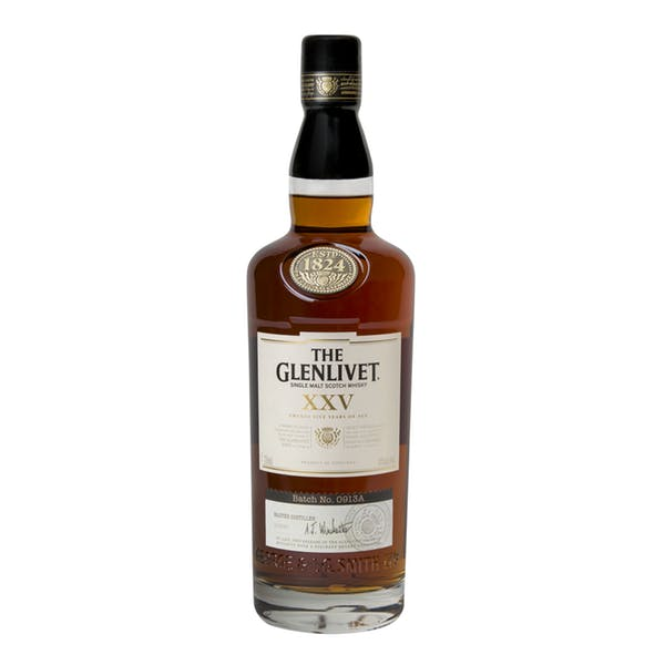 The Glenlivet XXV 25 Year Single Malt Scotch Whisky