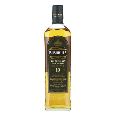 Bushmills 10 Year Single Malt Irish Whiskey