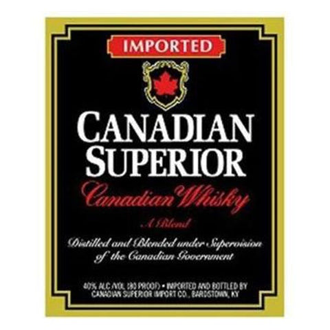 Canadian Superior Canadian Whisky