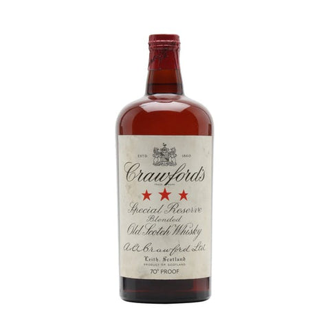 Crawford's 3 Star Blended Old Scotch Whisky