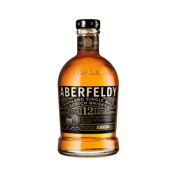Aberfeldy 12 Year Highland Single Malt Scotch Whisky