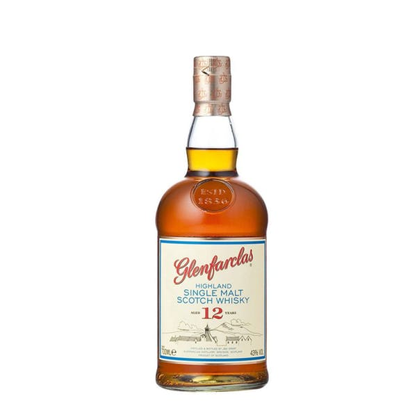 Glenfarclas 12 Year Highland Single Malt Scotch Whisky