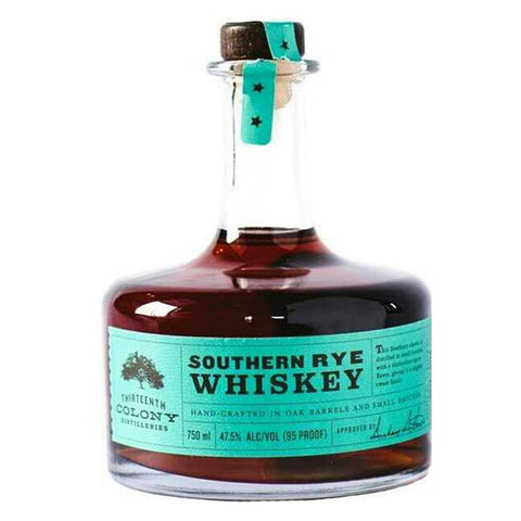 13th Colony Southern Rye Whiskey