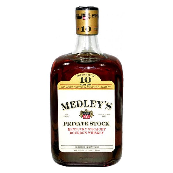 Medley's Private Stock 10 Year Kentucky Straight Bourbon