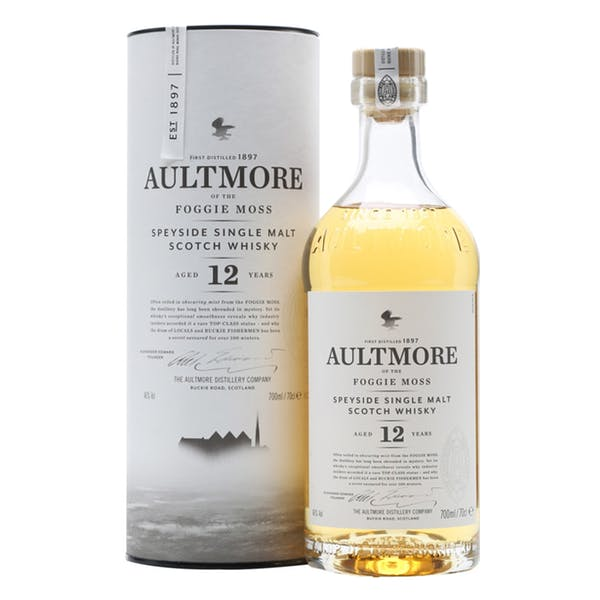 Aultmore 12 Year Speyside Single Malt Whisky