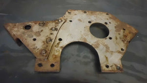 MB GPW Early CJ2A NOS Chain Timed Motor Front Plate