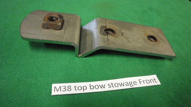 M38 Top Bow Stowage Bracket Front G740 US Made