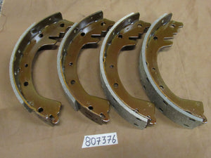 Brake Shoes Late Style M38A1, CJ3B, CJ5, CJ6