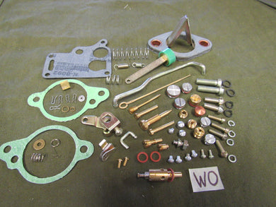 Carburetor Rebuild Kit Master Carter WO 647745