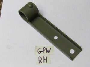 Top Bow Stowage Bracket Ford GPW RH