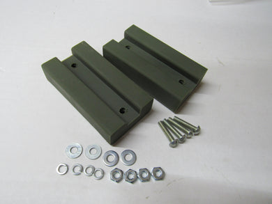 Hood Blocks Composit Rubber Kit Early MB GPW