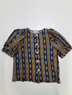Valentina Top African Pattern