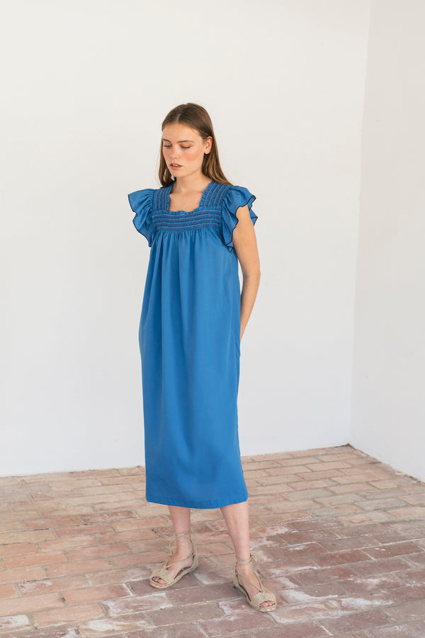 Grimaldi Dress Blue