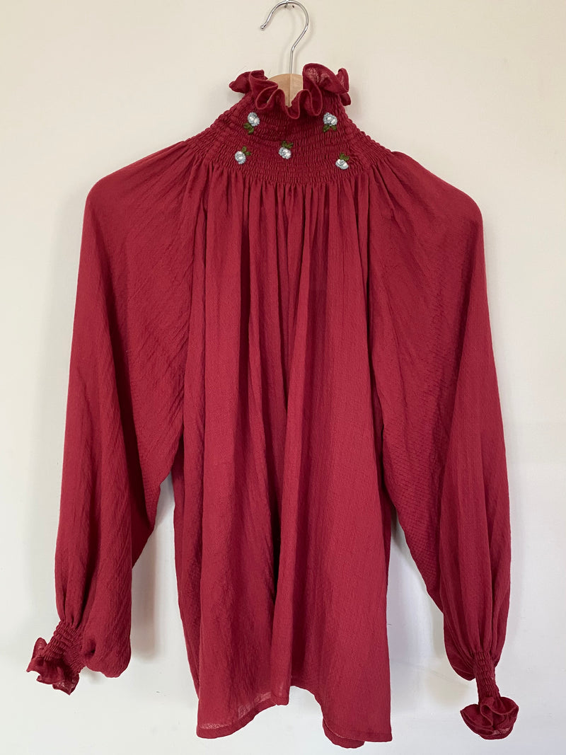 Courchevel Shirt Red