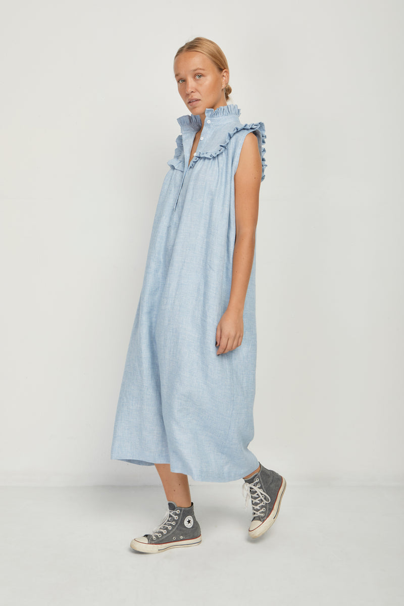 Henriette Blue Dress