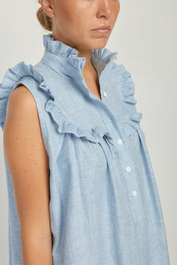 Henriette Top Blue