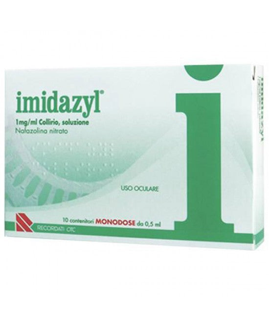 IMIDAZYL COLLIRIO 10 FLACONCINI 1D 1 MG/ML