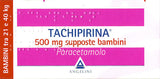TACHIPIRINA BAMBINI 10SUPPOSTE 500MG