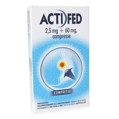 ACTIFED 12COMPRESSE 2.5MG+60MG