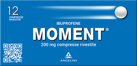 MOMENT 12 COMPRESSE RIVESTITE 200 MG - azfarma