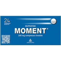 MOMENT 24 COMPRESSE RIVESTITE 200 MG - azfarma
