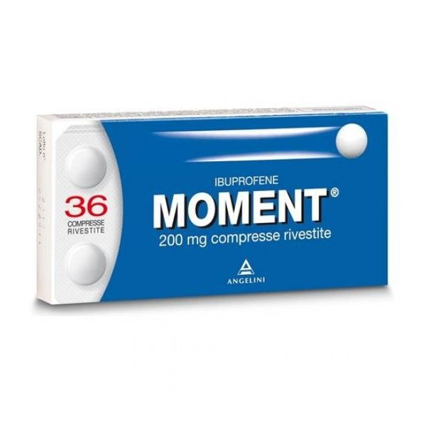 MOMENT 200 MG 36 COMPRESSE RIVESTITE - azfarma