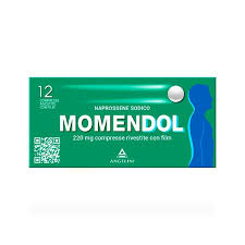 MOMENDOL 12 COMPRESSE RIVESTITE 220 MG - azfarma