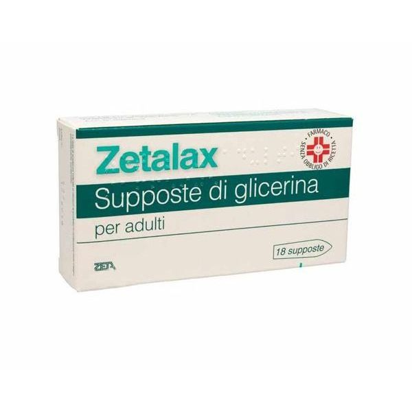 ZETALAX ADULTI 18 SUPPOSTE 2.25 G - azfarma