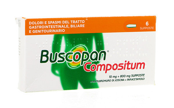 BUSCOPAN COMPOSITUM 20 COMPRESSE RIVESTITE - azfarma
