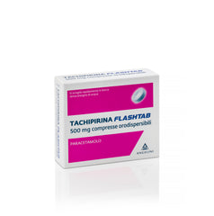 TACHIPIRINA FLASHTAB 16COMPRESSE 500MG