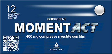 MOMENTACT 12 COMPRESSE RIVESTITE 400 MG - azfarma